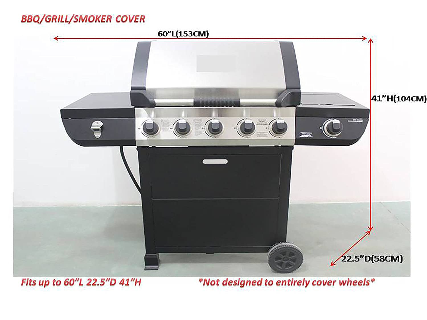 Quilted Kitchen Appliance Covers Amazoncom Uv Protection Icover 60 Inch Heavy Duty Water Proof