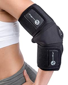 ActiveWrap Elbow Ice Wrap Hot Cold Packs for Tennis Elbow Treatment - Small/Medium