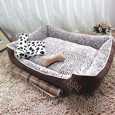 mylovepets transpirable impermeable lavable nido cama de perro – oso de peluche