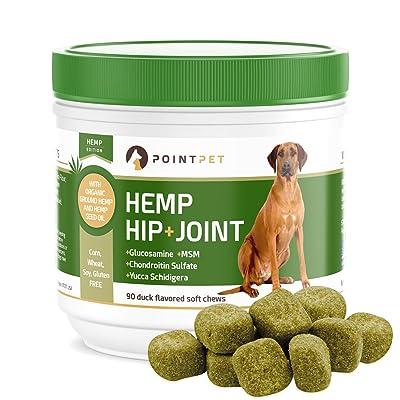 POINTPET Hemp Hip and Joint Supplement
