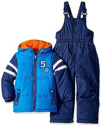 9d5648e68 Amazon.com  iXtreme Boys  Active Colorblock Snowsuit  Clothing