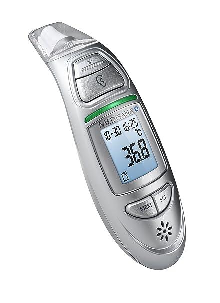 Medisana 76145 TM 750 Connect Termómetro de Infrarrojos Multifunción, con Bluetooth