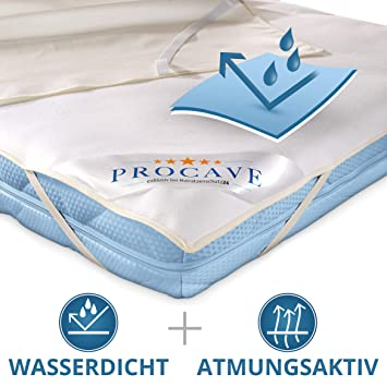 Hygiene Matratzen-Schoner 90x200 cm Matratzenauflage wasserdicht