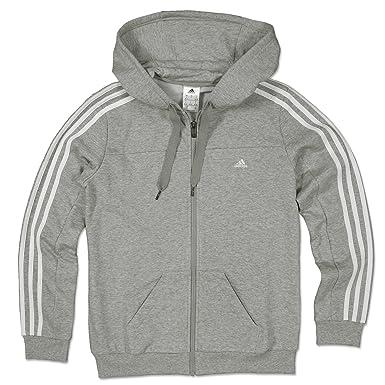 adidas Essentials 3S con capucha de chándal para tamaño mediano de ...