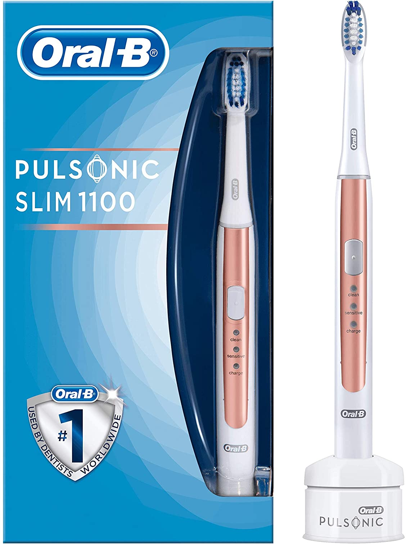 Oral-B Pulsonic Slim 1100 - Cepillo de dientes eléctrico, con ...