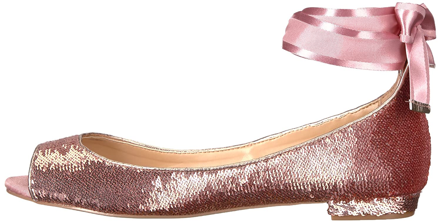 Badgley Mischka Jewel B06WGVM4MT Women's Lorde Ballet Flat B06WGVM4MT Jewel 7.5 B(M) US|Rose Gold 98cfd6