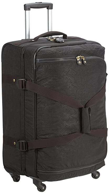3746f458487 Kipling - CYRAH M - 71 Litres - Spinner - Black Leaf - (Black):  Amazon.co.uk: Luggage