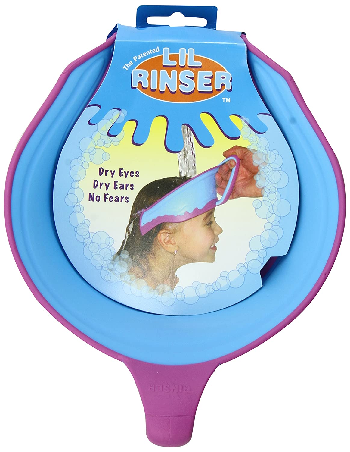 Lil Rinser Splashguard in Blue and Pink BLUE PINK