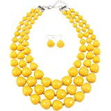 NA KOSMOS-LI 5 Colors Acrylic Beads Statement...
