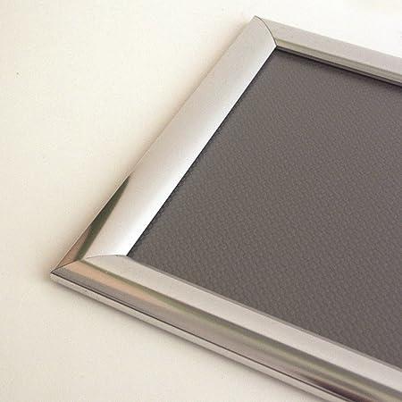 3dd5163ef1fb Polished Chrome Snap Frames (A2)  Amazon.co.uk  Kitchen   Home