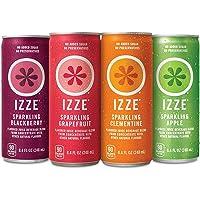 24-Count Izze Sparkling Juice 4 Flavor Variety Pack 8.4 Fl Oz