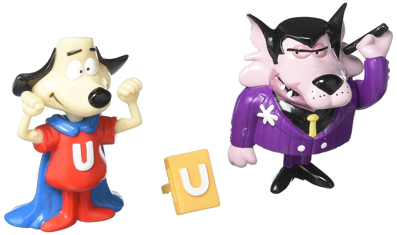 Classic Underdog Exclusive Premiere Riff Raff and Underdog PVC Figures 43003 NJ-4Q9J-N3MK