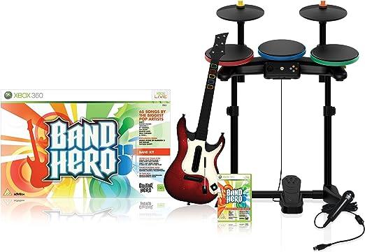 Xbox 360 - Band Hero Super Bundle: Amazon.es: Videojuegos