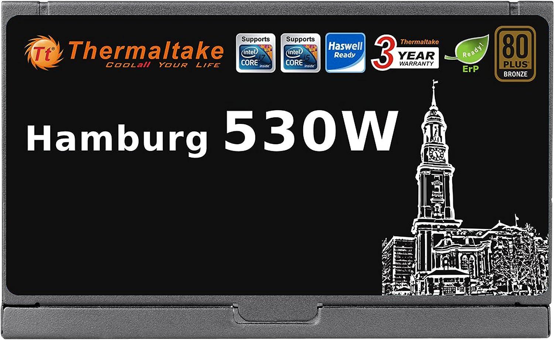 Thermaltake Hamburg 530W 80Plus Bronze zertifiziert