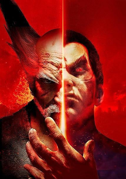 Amazon com: Tekken 7 Poster: Posters & Prints