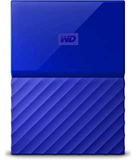 WD 1TB Blue My Passport Portable External Hard Drive - USB 3.0 -  WDBYNN0010BBL-WESN 044f6f546e99