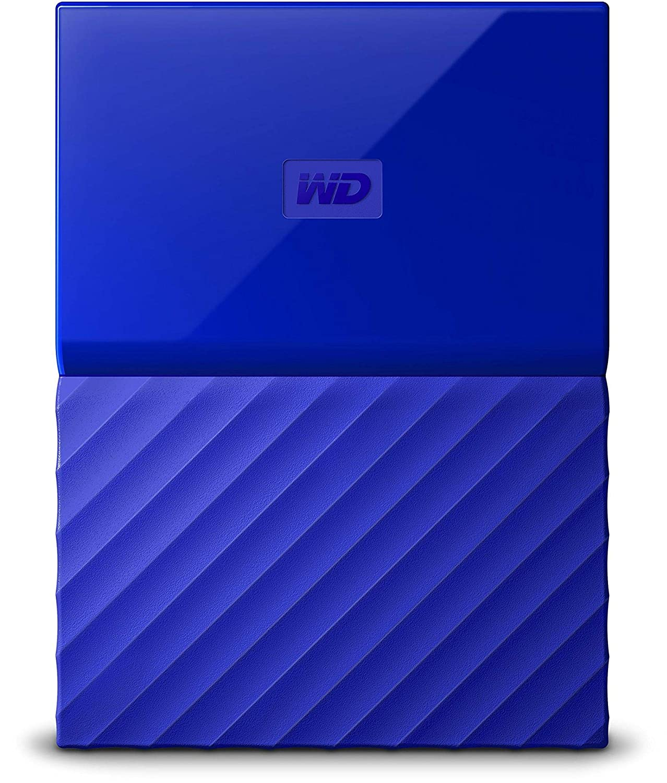 Western Digital 3tb My Passport Portable External Hard Drive Usb 30 Wd Wdbbkd0030 Disk Cartridge Wdbyft0030bbl Wesn Blue Computers Tablets