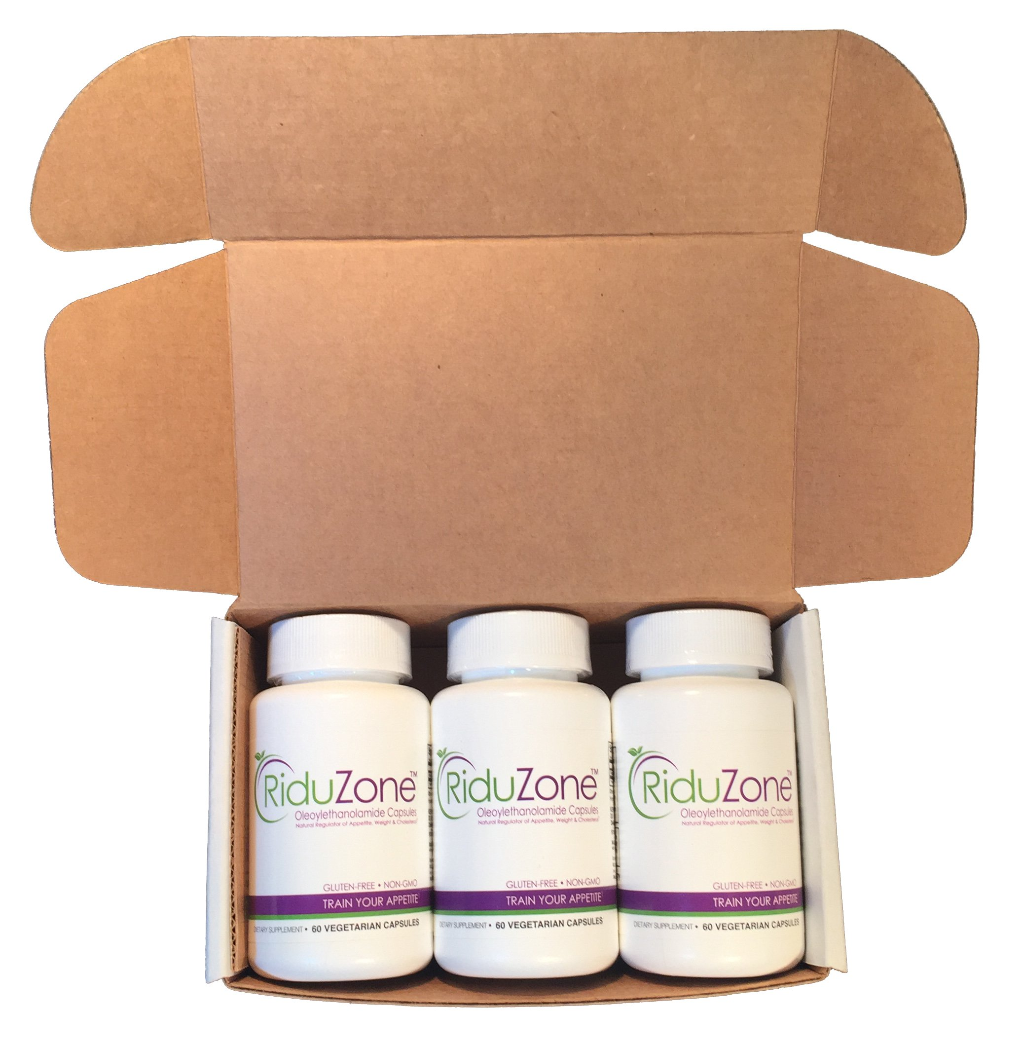 RiduZone (OEA/Oleoylethanolamide) Supplement For Healthy Weight Loss - 1 Bottle