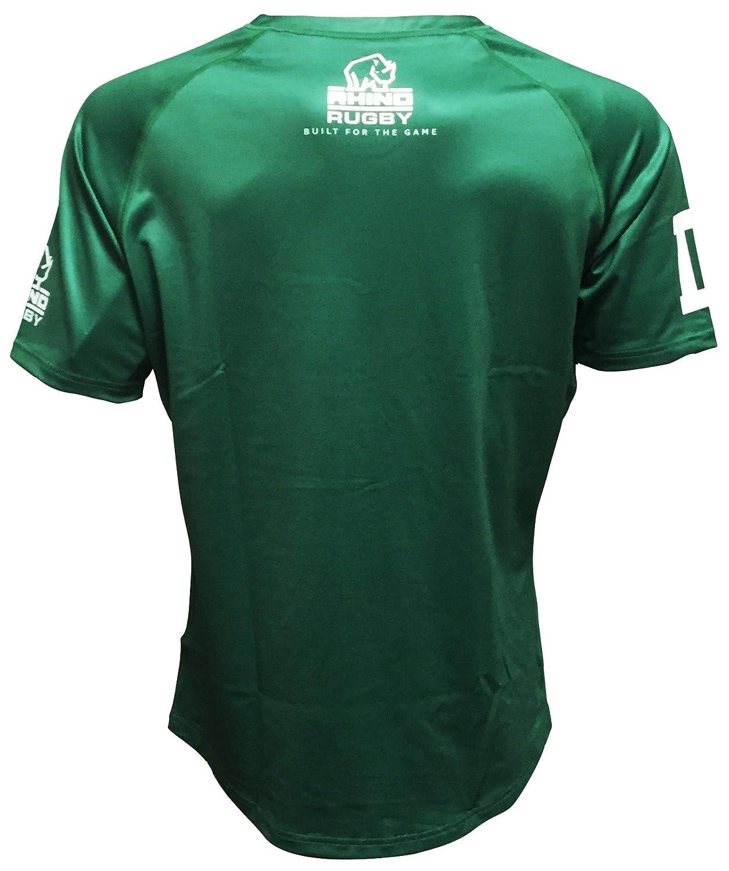 84ad454c1 Mens Rhino Heritage Rugby Shirt Long Sleeve