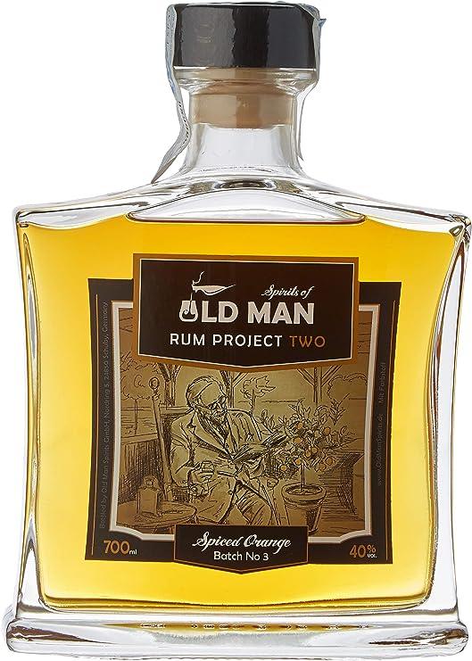 Old Man Ron Two Spiced Orange 40º - 700 ml: Amazon.es ...