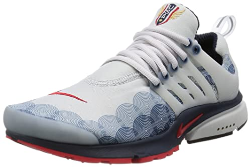 14dcb61406e Nike Mens Air Presto GPX USA Neutral Grey Red-Obsidian Fabric Size 11  Buy  Online at Low Prices in India - Amazon.in