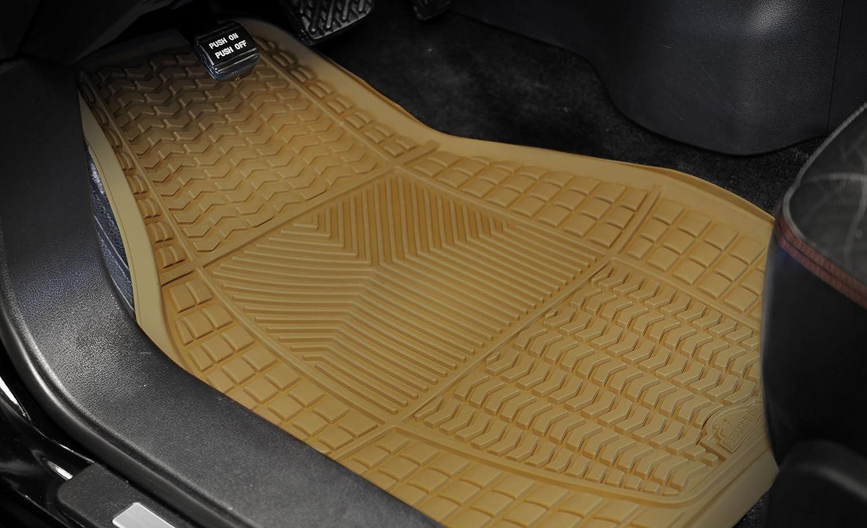 4 Piece Armor All 78840 Black Rubber Floor Mat