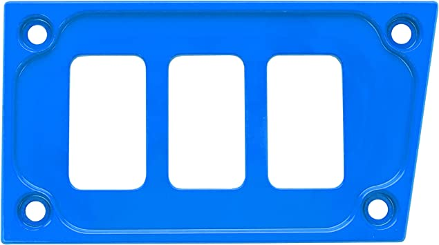 4 Free Laser Etched Switches 2015 Polaris RZR XP 1000 Custom Blue Dash Plate