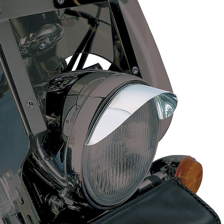 Show Chrome Accessories 53-429 7-Inch Headlight Visor
