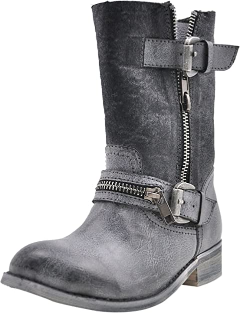 Volatile Horton Girls Toddler-Youth Boots Distressed