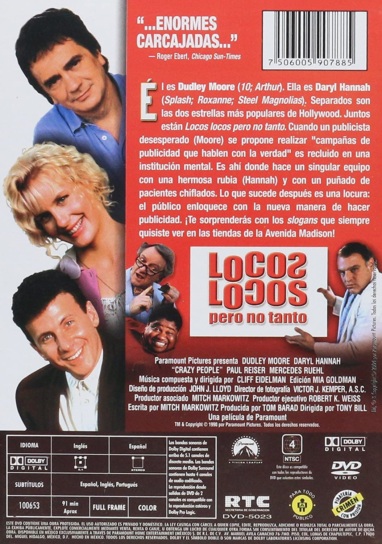 Amazon.com: Crazy People (Locos Locos Pero No Tanto) aka (Gente Loca)[ NON-USA FORMAT, NTSC, Reg.4 Import - Latin America ]: Dudley Moore, Paul Reiser, ...