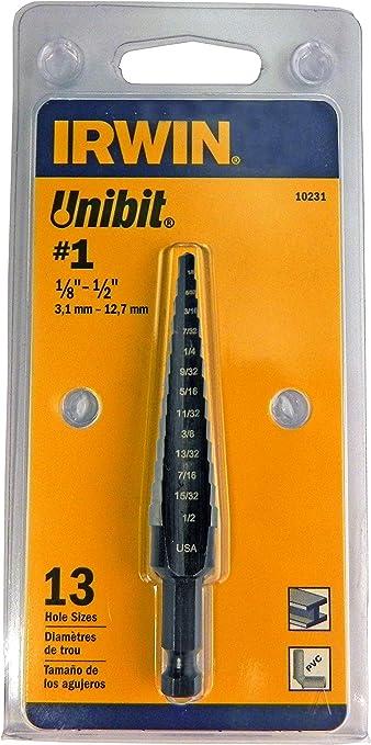 Irwin 1//2 Inch Drill Bit