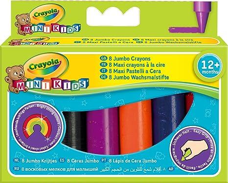 Maxi pastelli a cera decorati My First Crayola Crayola confezione da 8