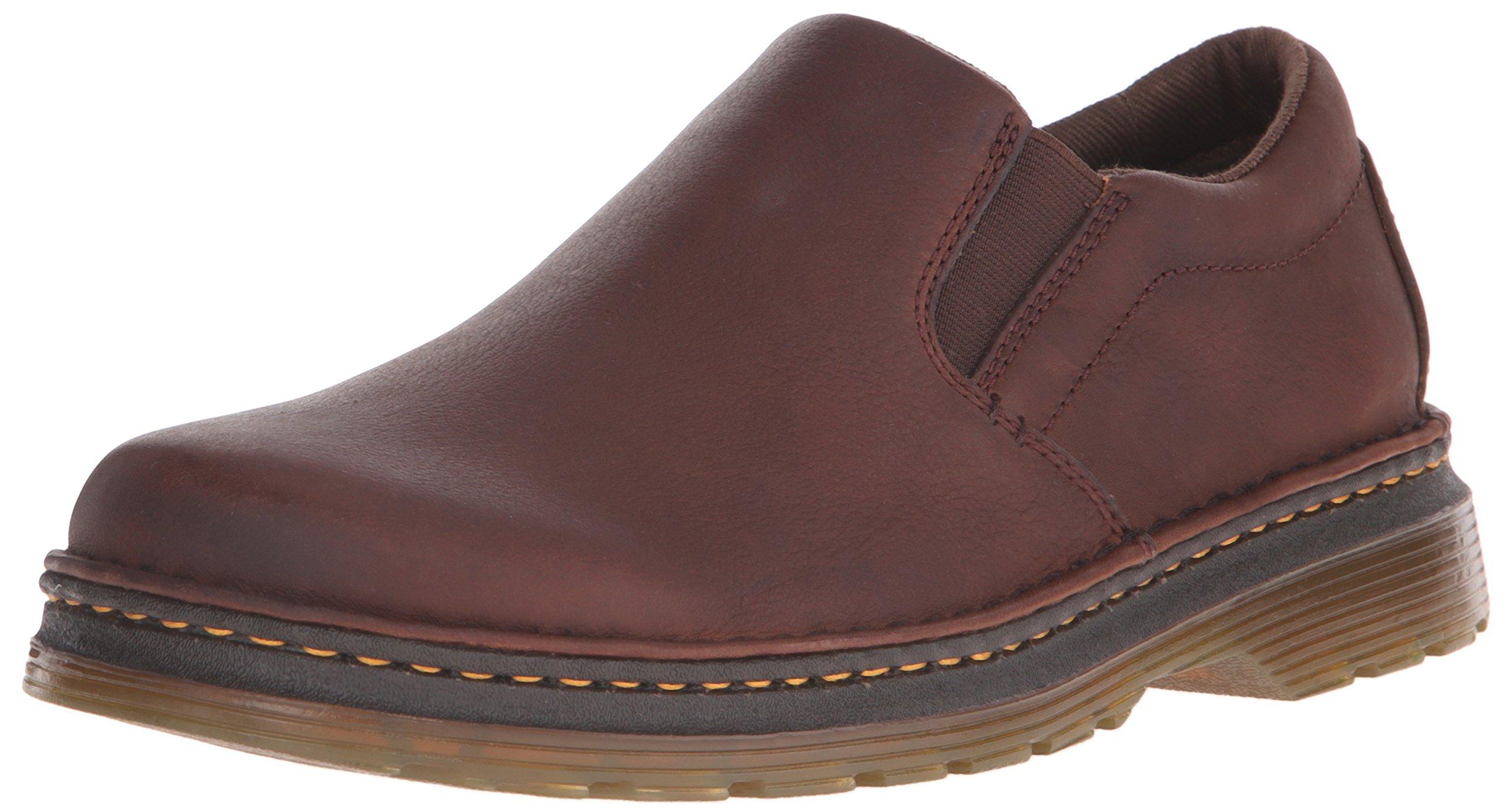 Dr. Martens Men's Boyle Slip-On Loafer, Dark Brown, 10 UK/11 M US