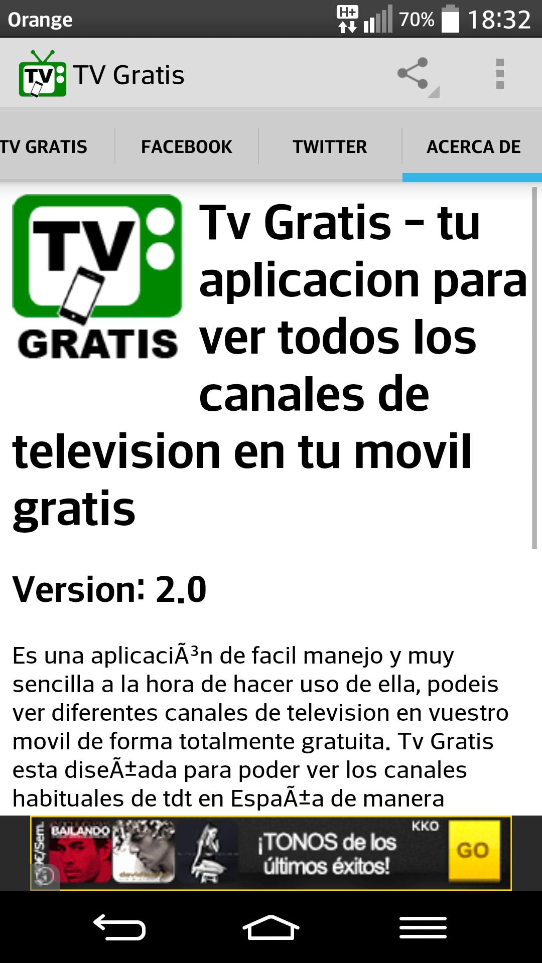 Tv gratis television: Amazon.es: Appstore para Android