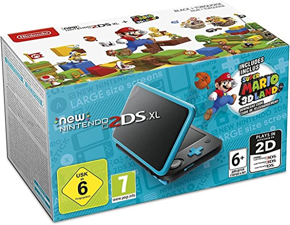 Nintendo New 2DS XL Incl. Super Mario 3D Land: Amazon.es: Electrónica
