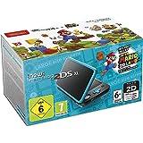 New Nintendo 2DS XL - noir/turquoise + 1 Code de Téléchargement pour Super Mario 3D Land