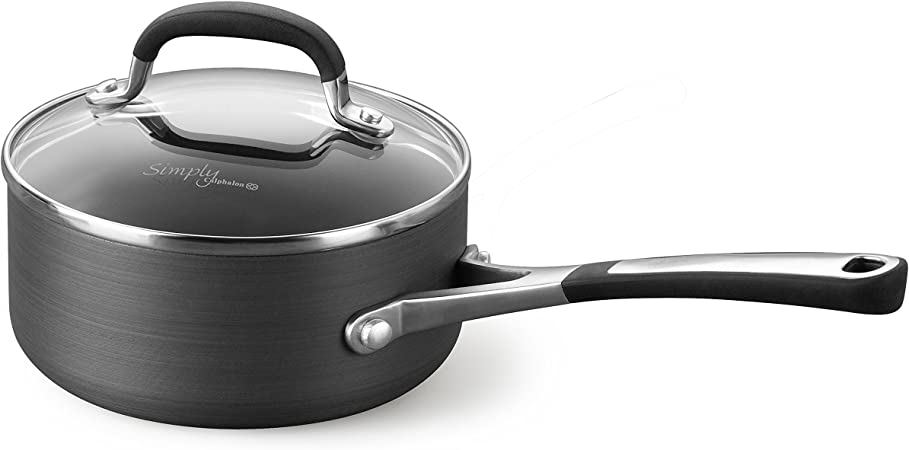 Simply Calphalon Nonstick 1-Quart Sauce Pan