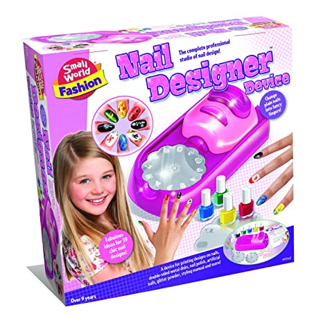 Amazon Small World Toys Fashion Nail Designer Device Makeup