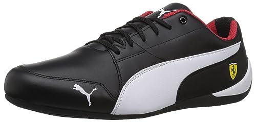 d69d8fae82af75 PUMA Men s Ferrari Drift Cat 7 Sneaker White Black