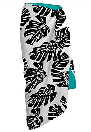 Pareos de Playa Multicolor tamaño Grande de 150x100cm. Varios Colores - Toallas de playa Mod. Kenna (Turquesa): Amazon.es: Hogar