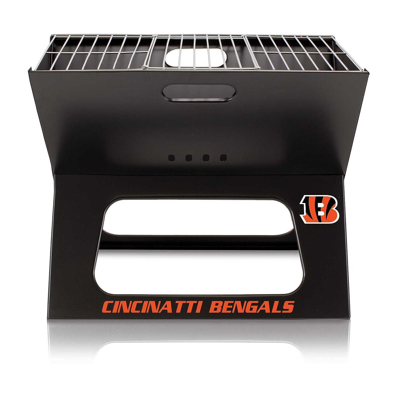 NFL Cincinnati Bengals Portable Collapsible Charcoal X-Grill B01EWKIO6U