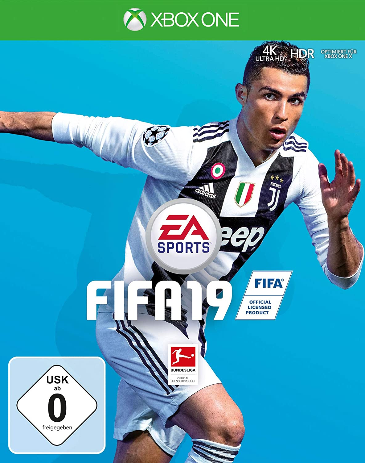 xbox one spiel fifa 19 2019 fu ball dt version dhl. Black Bedroom Furniture Sets. Home Design Ideas