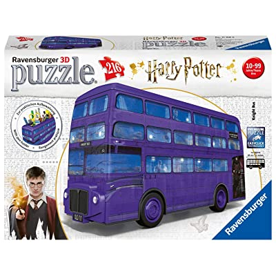 Ravensburger 11158 Harry Potter Knight Bus, 216pc 3D Jigsaw Puzzle,: Toys & Games