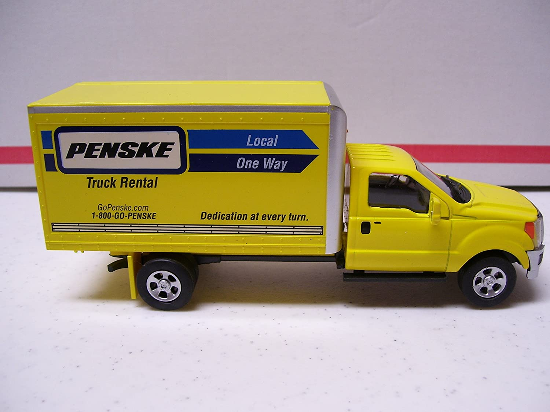 Amazon Com Gold Line Collection Menards Penske Box Truck Toys Games