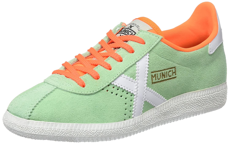 Munich Barru, Zapatillas Unisex Adulto 41 EU|Multicolor (Verde/Naranja 013)
