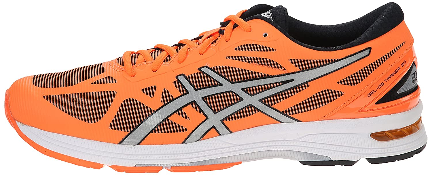 da1ee9329bfe ASICS Men s Gel-Ds Trainer 20 Flash Orange Silver Black Ankle-High Running  Shoe - 11M  Asics  Amazon.in  Shoes   Handbags
