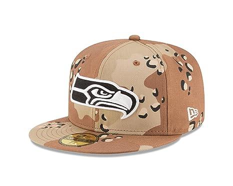 6c83829674f04 Amazon.com   New Era NFL Seattle Seahawks League Basic 6 59FIFTY ...