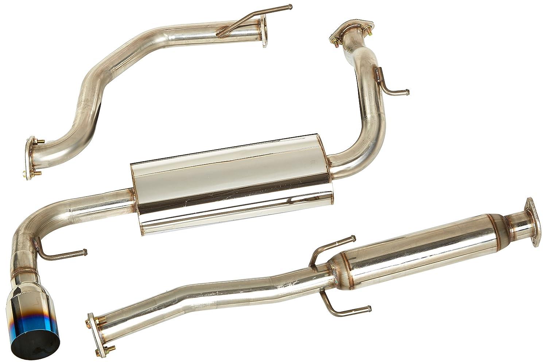 Spec-D Tuning MFCAT2-CRX88T-SD Honda Crx Hatchback 3Dr Jdm N1 Burn Tip Exhaust Catback System
