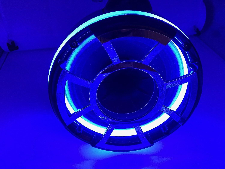 Amazon.com : Blast LED - REV 9 Blue LED Speaker Rings for Wet