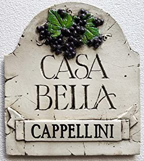 product image for Piazza Pisano Casa Bella Beautiful Home Italian Personalized Sign
